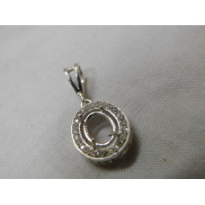 925 Sterling Silver Mount Pendent, Silver Pendent, MPE-0007