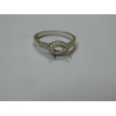 925 Sterling Silver Mount Ring, Silver Ring, MRI-0104