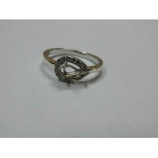 925 Sterling Silver Mount Ring, Silver Ring, MRI-0112