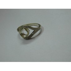 925 Sterling Silver Mount Ring, Silver Ring, MRI-0160