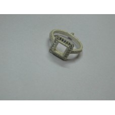 925 Sterling Silver Mount Ring, Silver Ring, MRI-0167