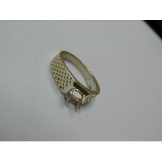925 Sterling Silver Mount Ring, Silver Ring, MRI-0187