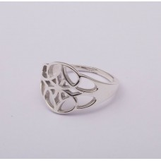 925 Sterling Silver Ring, Plain Ring, RI-0693