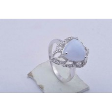 Amethsyt Gemstone, 925 sterling silver Ring, Shape- Trillion, Ri-0109
