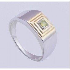 Swiss Topaz Gemstone, 925 Sterling Silver Ring, RI-0340
