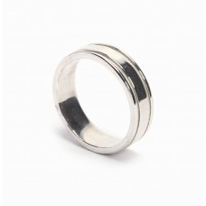 925 Sterling Silver Ring, Silver Ring, Plain Ring, RI-0474