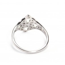 925 Sterling Silver Ring, Silver Ring, Plain Ring, RI-0502