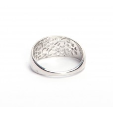925 Sterling Silver Plain Ring, RI-0506