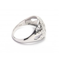 925 Sterling Silver Ring, Plain Ring, RI-0508