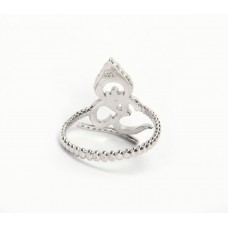 925 Sterling Silver Ring, Plain Ring, RI-0555
