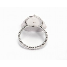 925 Sterling Silver Ring, Plain Ring, RI-0563